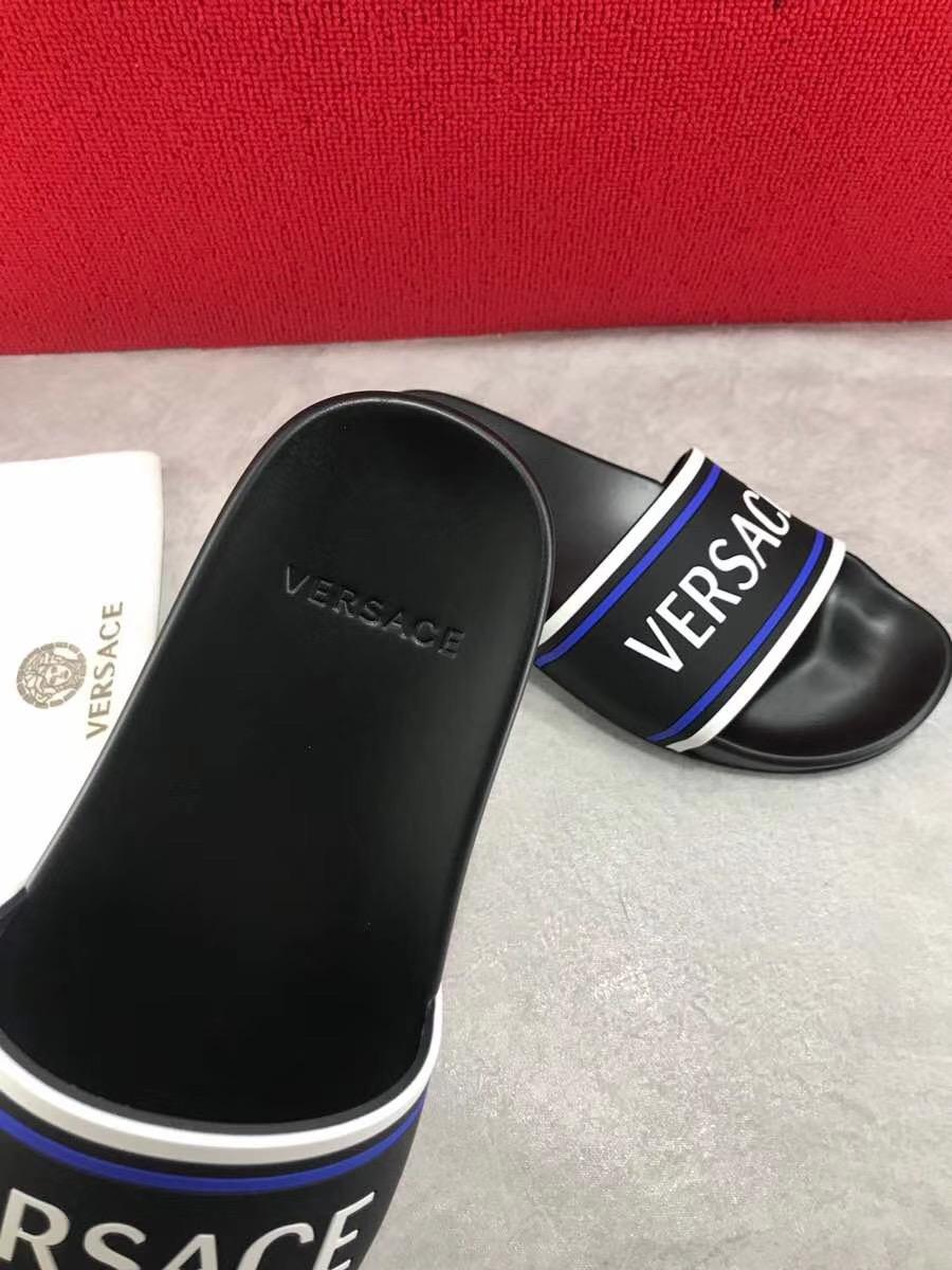 Dép Versace nam siêu cấp hoạ tiết Olympus DVS06